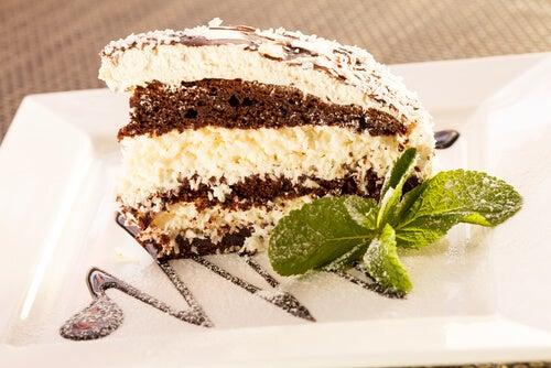 tarta chocolate coco