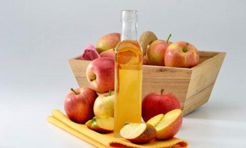 Vinagre de manzana para aliviar la sinusitis