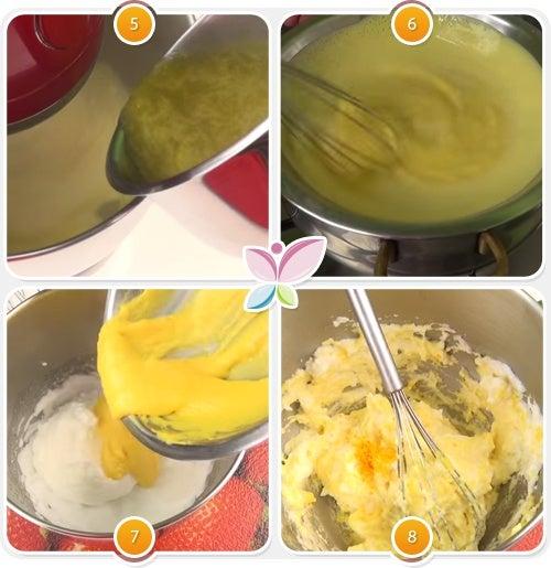 Espuma de naranja - Paso 5 al 8