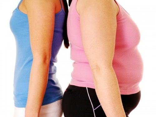 Mujeres con hipertiroidismo e hipotiroidismo