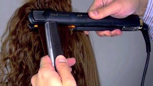 3 consejos para evitar el daño de la plancha en tu cabello