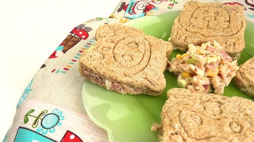 Cómo hacer sándwiches animados