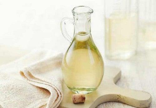 Vinagre blanco para tratar la sarna