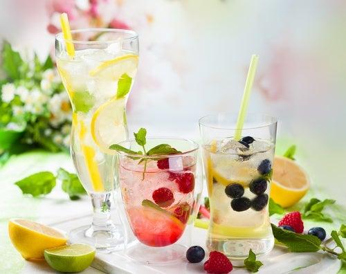 Agua de sabores