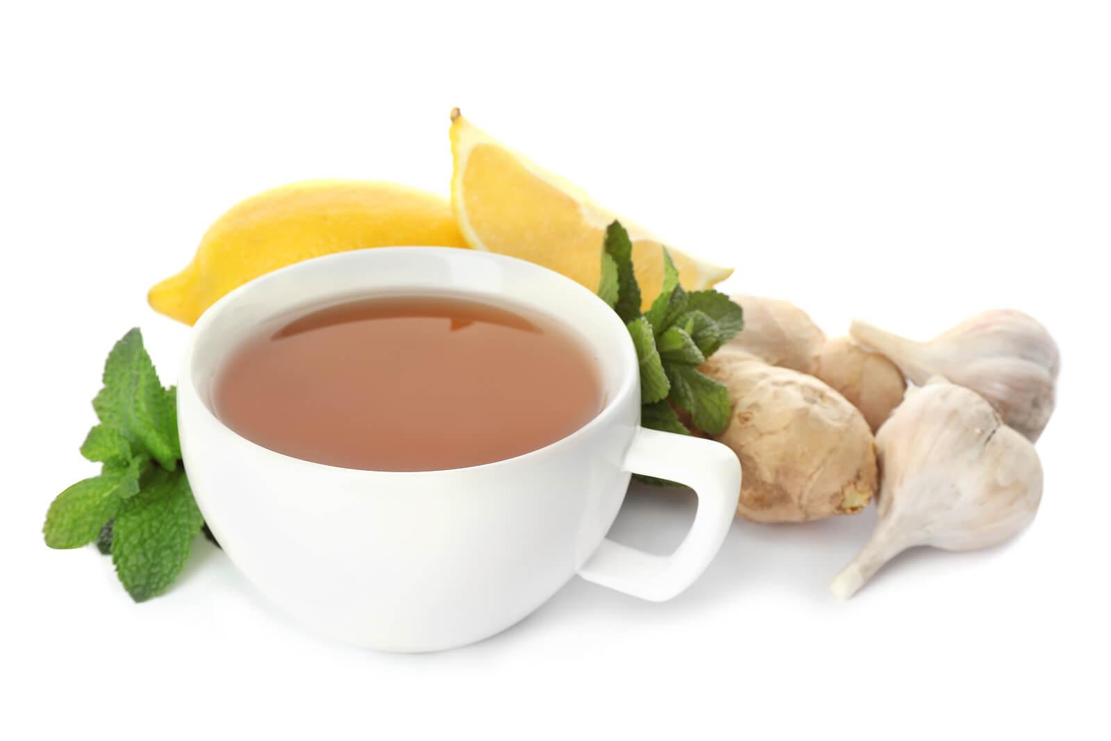 Beneficios del té de ajo.