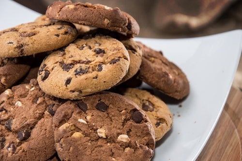 Receta brownie cookies