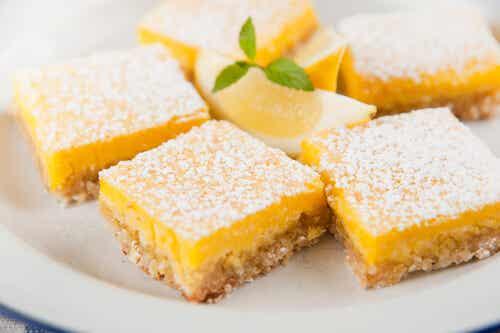 Brownie de limón: 3 deliciosas recetas