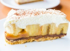 cheesecake banana split