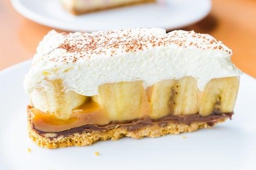 Cheesecake de banana split