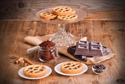 Crostata de ricotta y chocolate