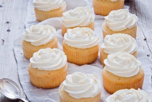 cupcake tarta manzana