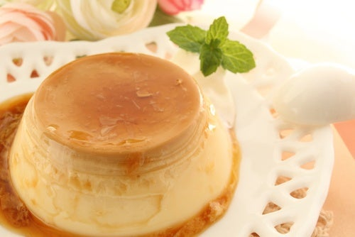 flan de huevo