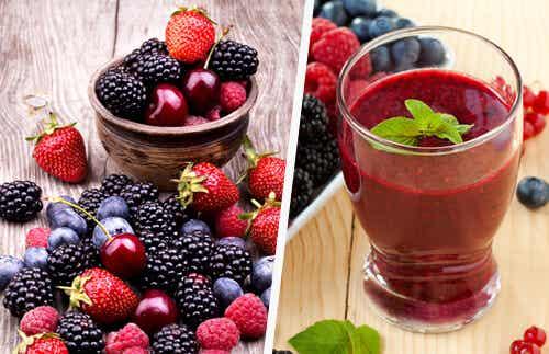 Beneficios de los jugos rojos: alcalinizantes y rejuvenecedores