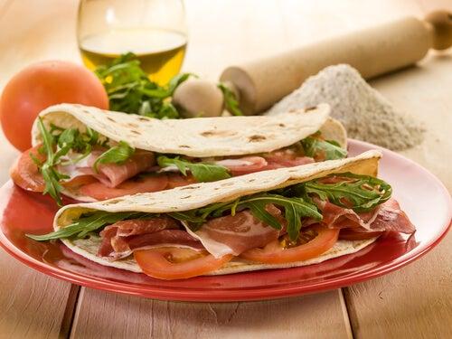 Piadina (receta italiana)