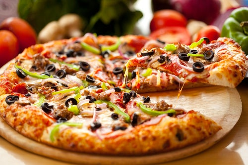Pizza sin gluten y sin levadura