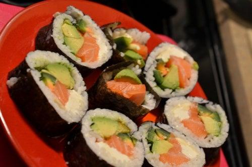 sushi comida Michael Kappel