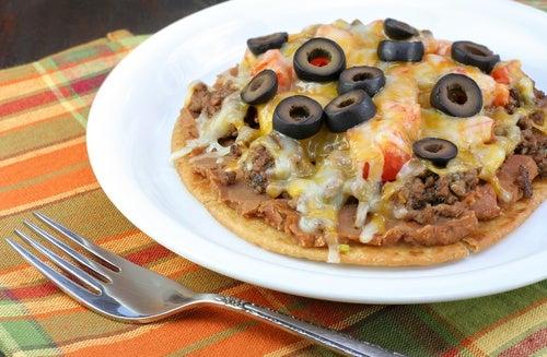 Tacos de pizza