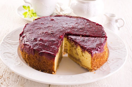 Tarta de queso al estilo alemán