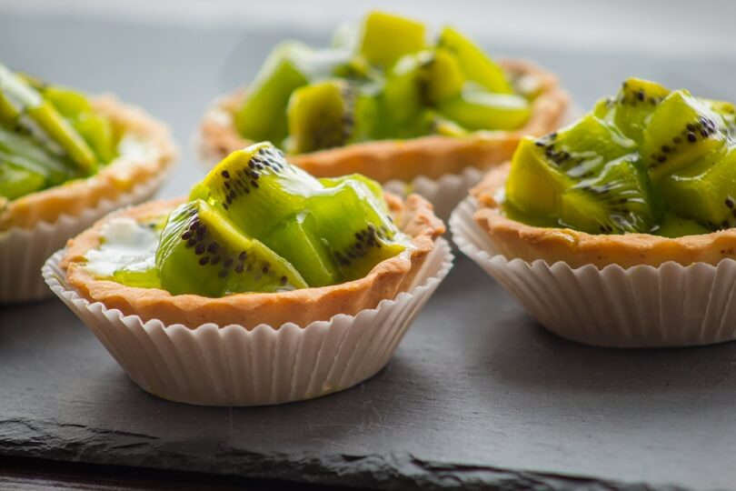 Tarteleta kiwi