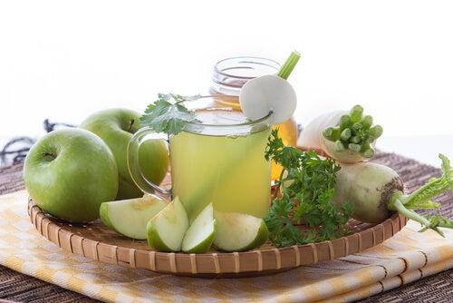 te-de-manzana