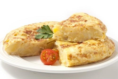 tortilla patatas sin huevo