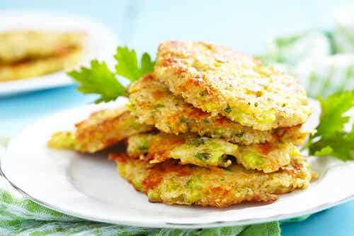 Tortitas de patata y queso