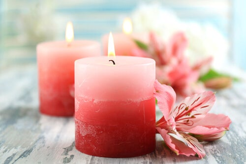 velas para conseguir un hogar libre de estrés