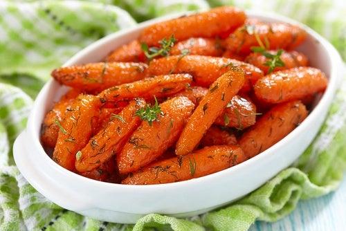 Recetas de zanahorias glaseadas