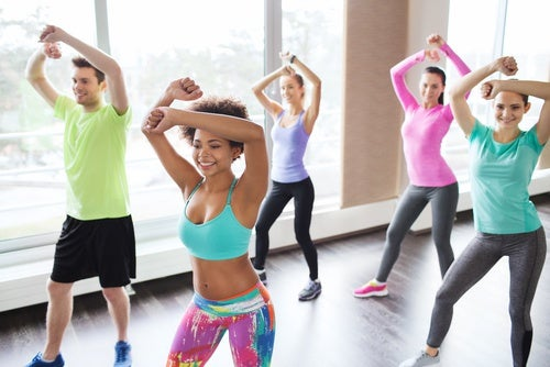 El zumba, una de las mejores formas de practicar el baile.