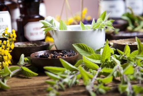 Baños herbales para los dolores musculares