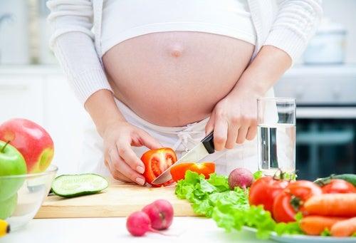 Buena-alimentacion durante el embarazo