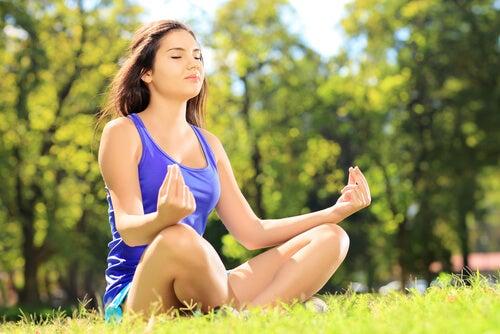 Ejercicio de meditación para eliminar las tensiones