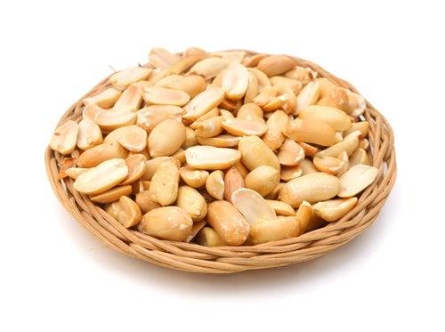 Nueces-y-cacahuetes dieta para evitar mucosidad