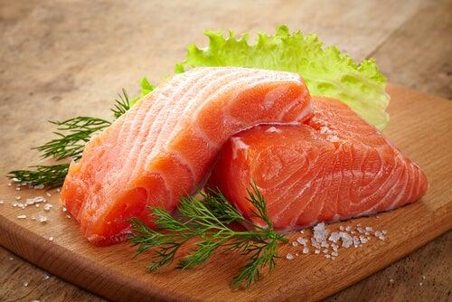 pescado para mejorar la concentración