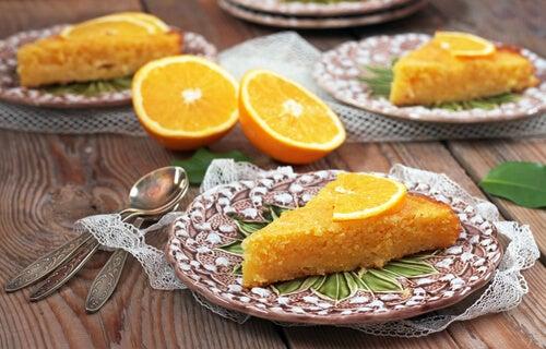 2 formas de hacer un pastel de naranja con ingredientes saludables