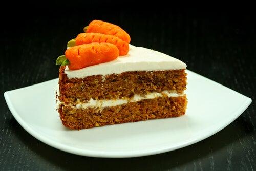 Bizcocho de zanahoria y coco