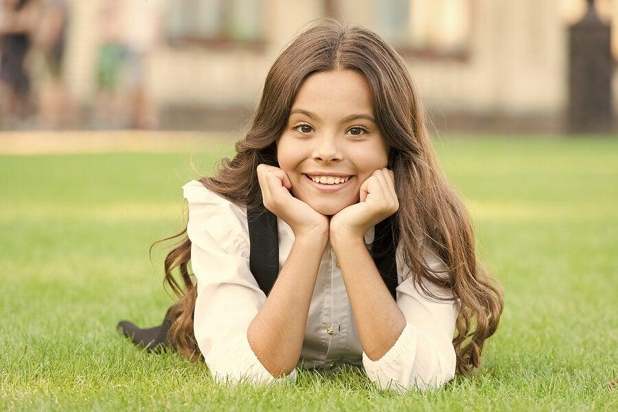 Características del crecimiento del cabello de tus hijos
