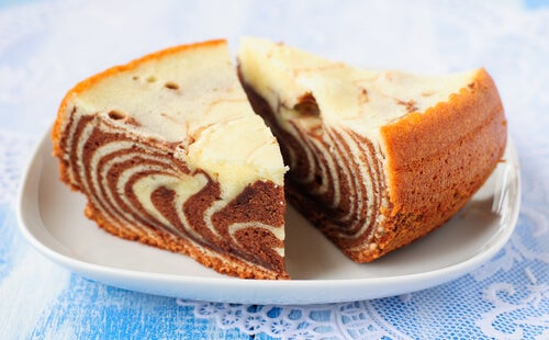 Cheesecake cebra