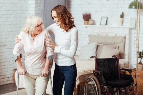 Cuidar de una persona dependiente