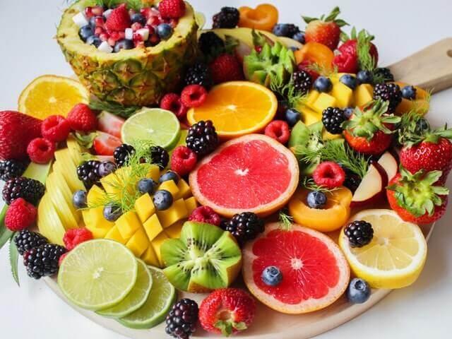 Las frutas tropicales.