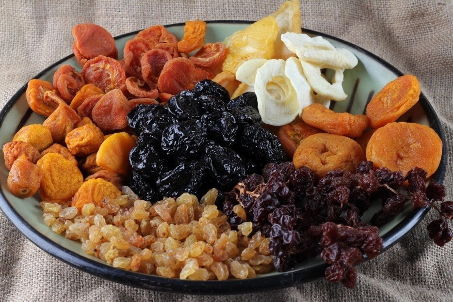 Fruta deshidratada, fortalece tus huesos y combate el cansancio