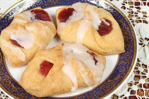 Cookies de fresa y chocolate blanco