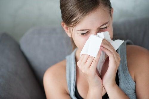 El jengibre puede ayudar con los síntomas de la gripe.