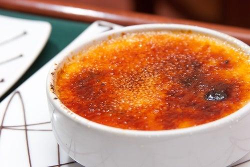 Leche asada a la naranja (light)