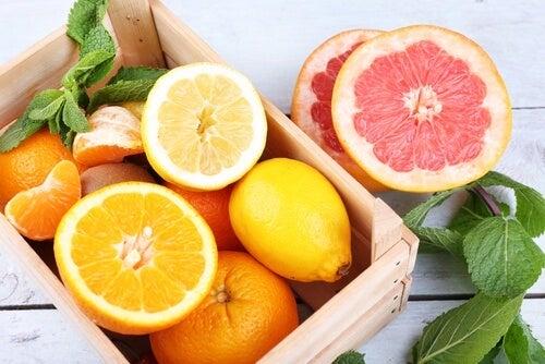 Limones y naranjas