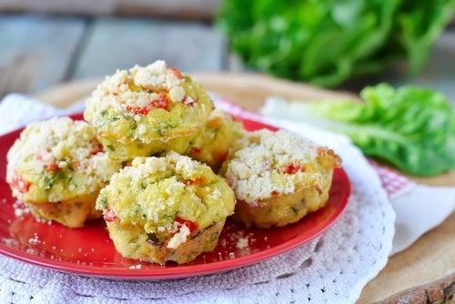 muffin calabacin