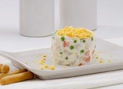 pastel piña