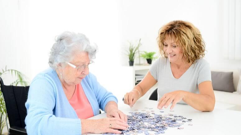 Puzzle persona dependiente