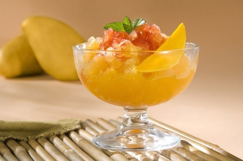 sorbete de mango
