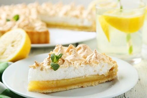 Tarta de limón en el microondas